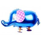 Pet Blue Elephant