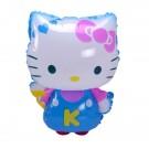 Blue Hello Kitty Walking Pet