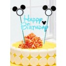 Mickey Blue Cake Banner