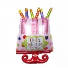 35in Happy Birthday To You Cake Balloon