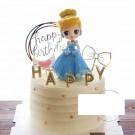 14cm Cinderella Figurine Topper