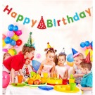 Colourful Happy Birthday Banner