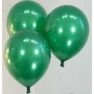 "12"" Pearl Dark Green Colour Latex Balloons"