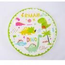 Dinosaur 7in cake plates 12pcs per pack