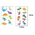 Cute Dinosaur Tattoos 2 sheets