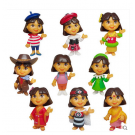 Dora Birthday Celebration Cake Kit (9pcs.) set