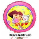 Dora Pull String Piñata