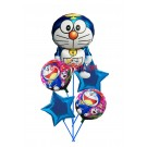 Doreamon Birthday Balloon Bouquet