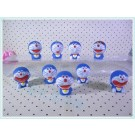 Doraemon 9 pcs Figure Topper