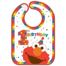 Elmo Turn One 1st Birthday Bib