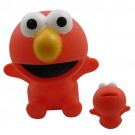 Elmo Coin Bank Cake Topper