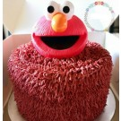 Elmo Head Cake Topper