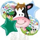 Cow Head Farm Balloon Bouquet