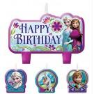 Frozen Birthday Candles 4pcs