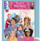 Frozen Scene Setter with 12pcs Photo Booth Props