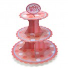 Birthday Girl Cupcake Stand