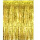 Gold Streamer Foil Curtains