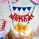 Happy Birthday Cake Banner