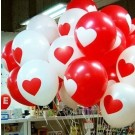 "12"" Heart Latex Balloons"
