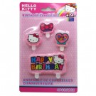 Hello Kitty Rainbow Candles 4pcs