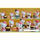 Hello Kitty Dessert 6pcs Figure Toppers