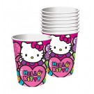 Rainbow Hello Kitty Cups 8pcs