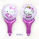 16in Hello Kitty Hand Held Balloon