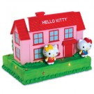 Hello Kitty House Cake Topper