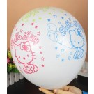 "12"" Hello Kitty white Latex Balloons"
