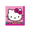 Rainbow Hello Kitty Beverage Napkins 16pcs