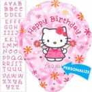 18in PERSONALIZE IT! Hello Kitty Balloon