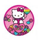 Rainbow Hello Kitty Dessert Plates 8pcs