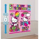 Rainbow Hello Kitty Scene Setter