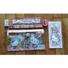 Hello Kitty 7pcs stationary set