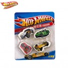 Hot Wheels Eraser 4pcs per pack