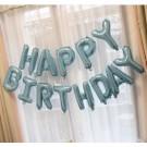 "16"" HAPPY BIRTHDAY Pearl Light Blue foil balloons"