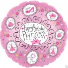 "18"" Happy Birthday Princess Balloon"