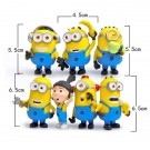 Minion cake Topper 7pcs
