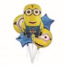 Minion Balloon Bouquet