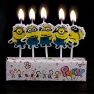 Minion Pick Candles Set