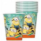 Minions Paper Cups 8pcs