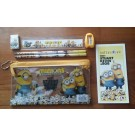 Minions 7pcs stationery set