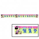 Minnie Mouse Plastic Letter Banner 8ft