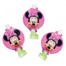 Minnie Mouse Birthday Blowouts 8ct
