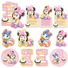 Minnie Mouse 1st Birthday Cutouts 12pc