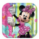 Minnie Mouse 7in Plates 8pcs