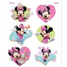 Minnie Color Tattoo Sheets 12pcs