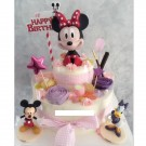 Mickey or Minnie Cake Topper Figures