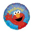 9in Elmo Happy Birthday Balloon