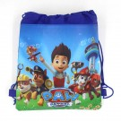 Paw Patrol Blue Drawstring Bag